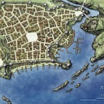 Free Fantasy City Map