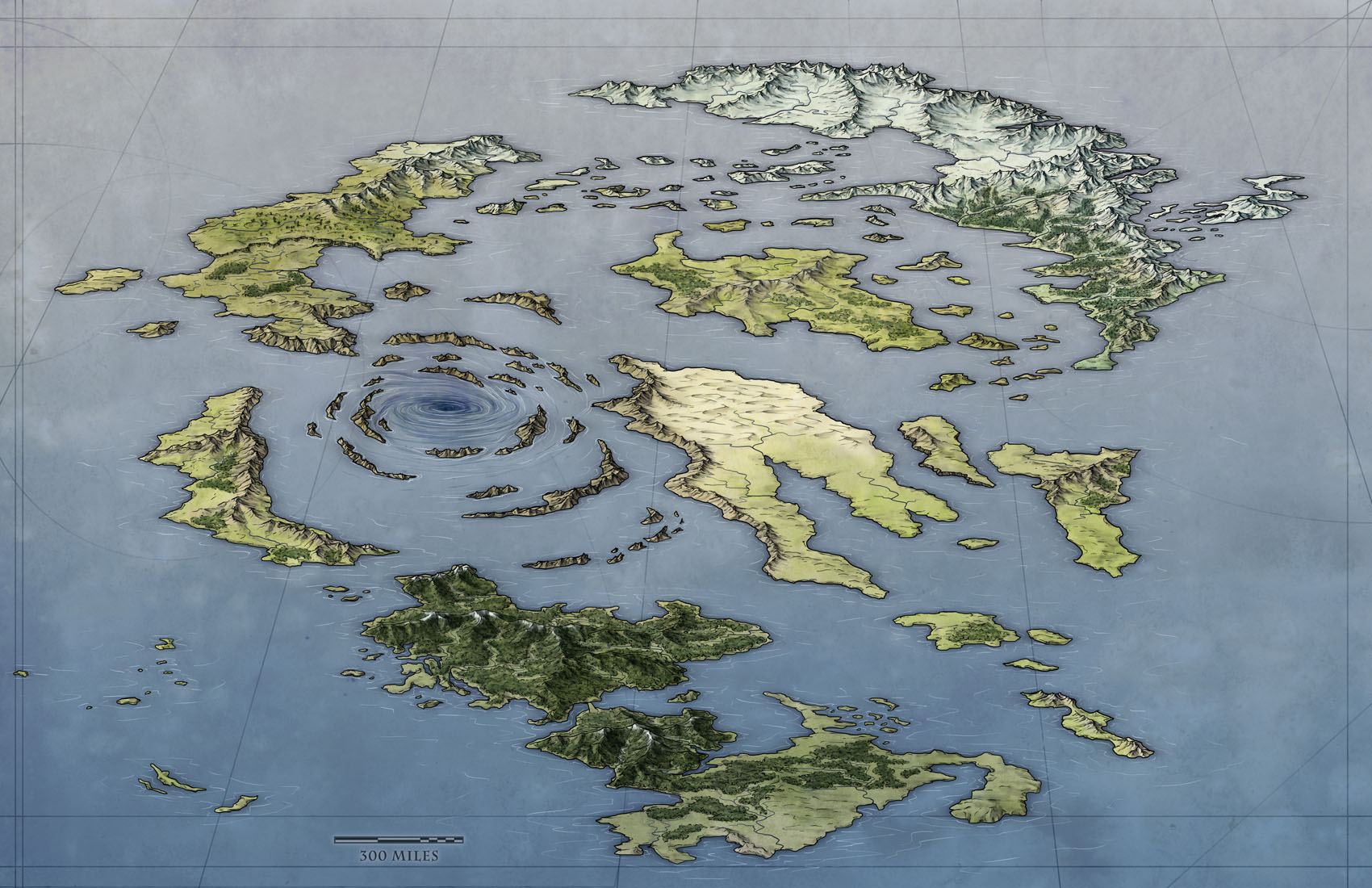 A Free World Map - Fantastic Maps