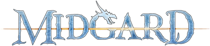 Ice logo for the Open Design fantasy world of Midgard