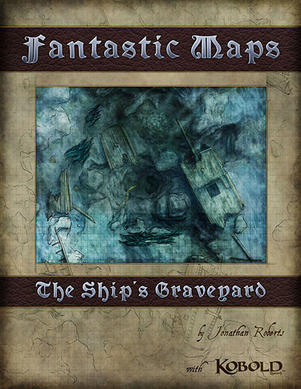 Ship's Graveyard Underwater Fantasy Battlemap Map Pack