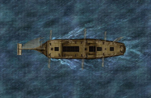 Pirate Ship For Fantasy Map Pack Fantastic Maps