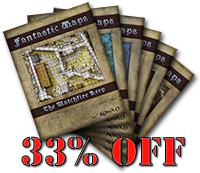 Kobold Press bundle of fantasy maps