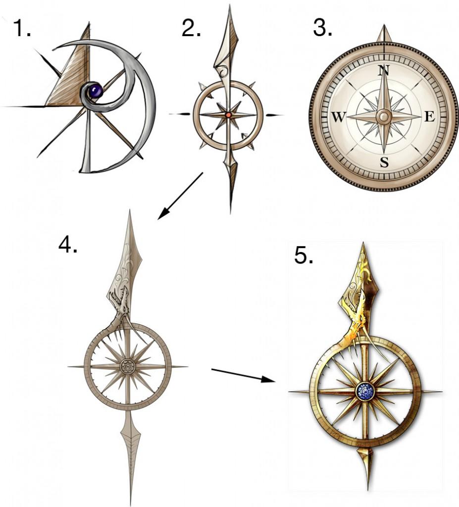 Compass Design For The Midgard IPad App