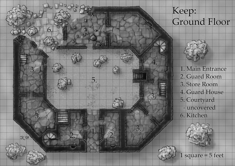 castle Archives - Fantastic Maps