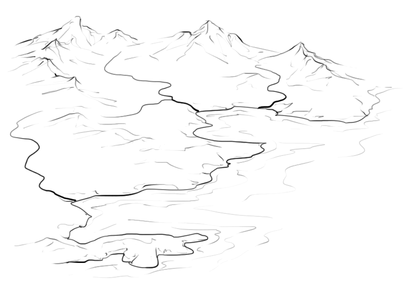 Line Drawing River : How to draw rivers on an isometric map fantastic maps
