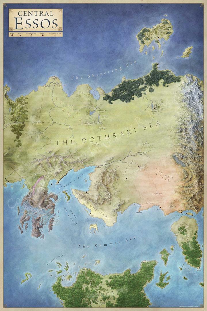 Essos Map
