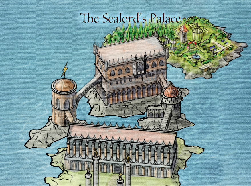 Sealord's Palace from the Official map of Braavos