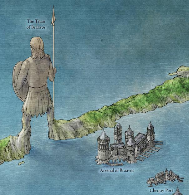 the free city of braavos fantastic maps braavos map game thrones