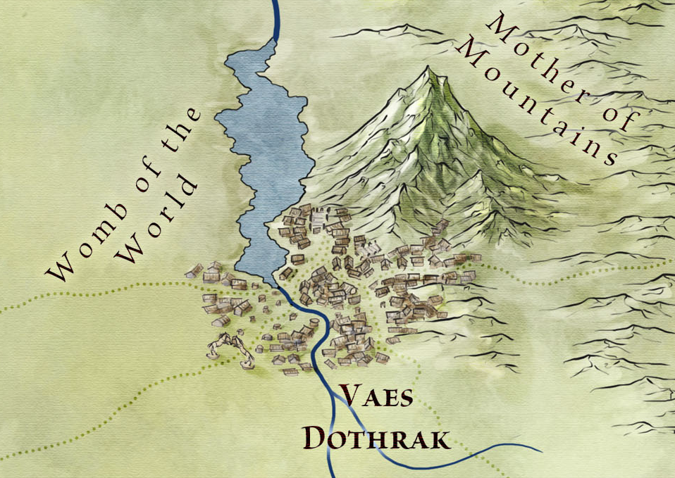 Vaes Dothrak and the Mother of Mountains