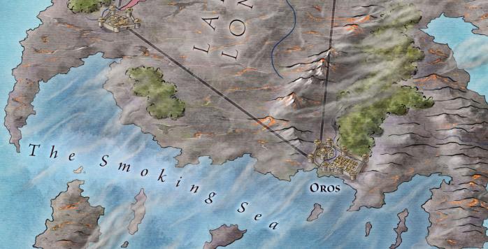 Valyria and the Smoking Sea