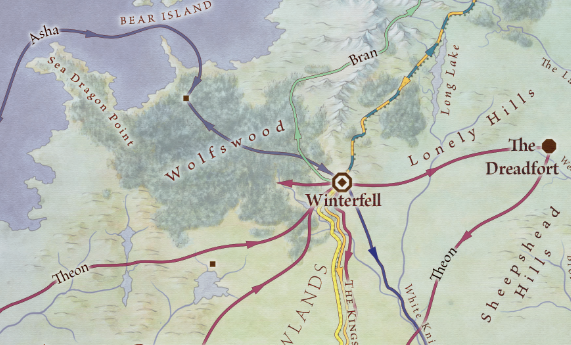 Winterfell Routes