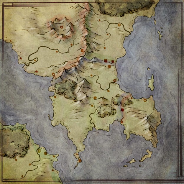 How to use a map for worldbuilding