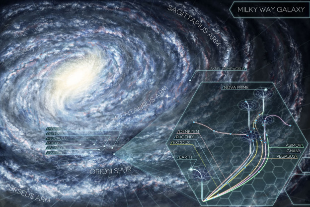 After Earth Galaxy Map